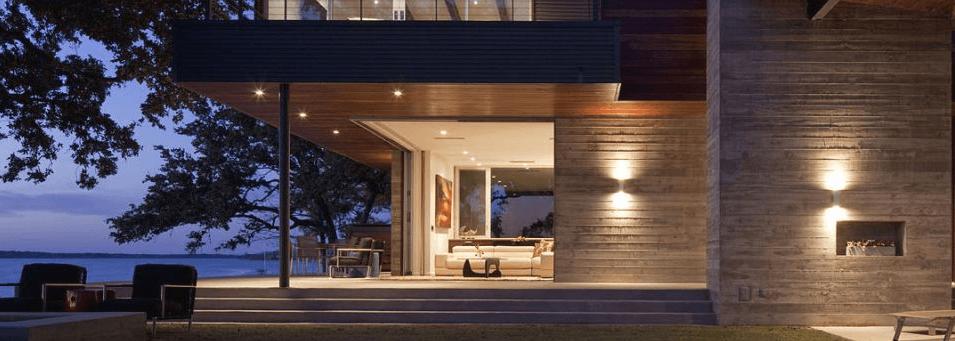 Domotique maison programmation éclairage terrasse