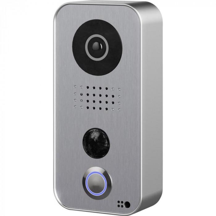 installer portier vidéo Doorbird, connecté à un smartphone