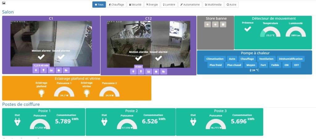 gestion domotique coworking Lyon