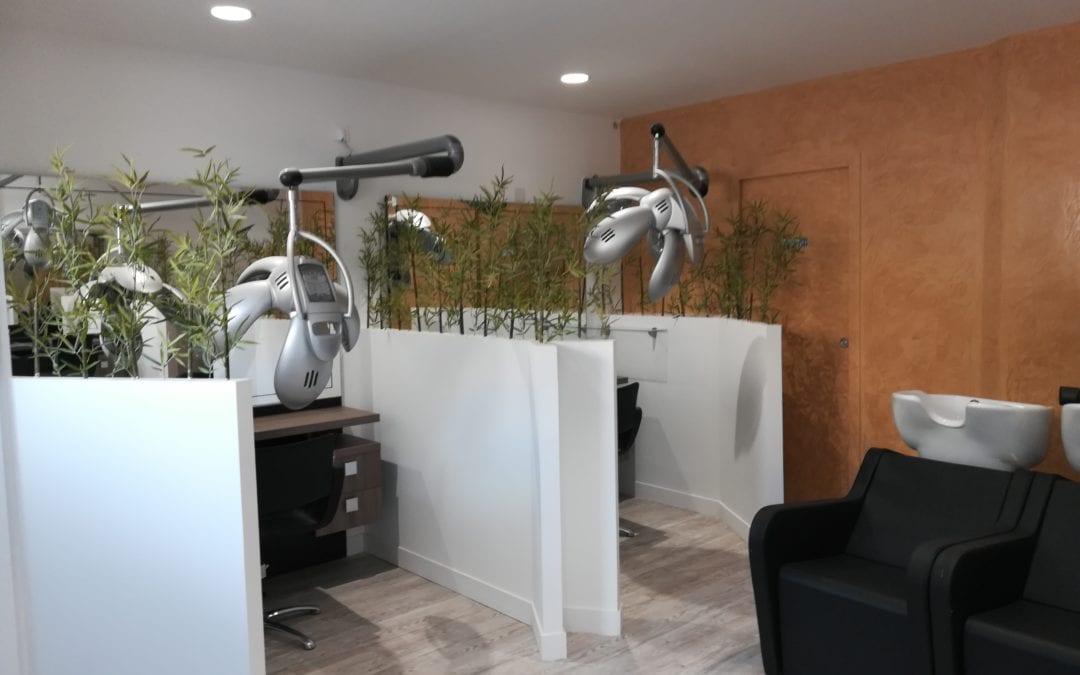 domotique salon de coiffure coworking