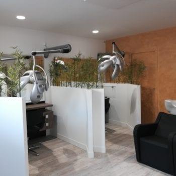 Domotique et coworking: exemple réussi d'un salon de coiffure